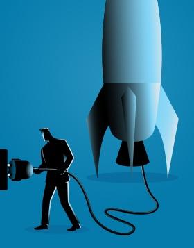 plug in rocket